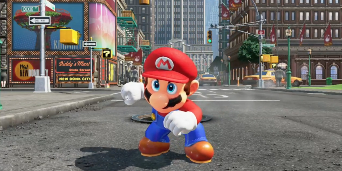 Review Super Mario Odyssey English Version Play