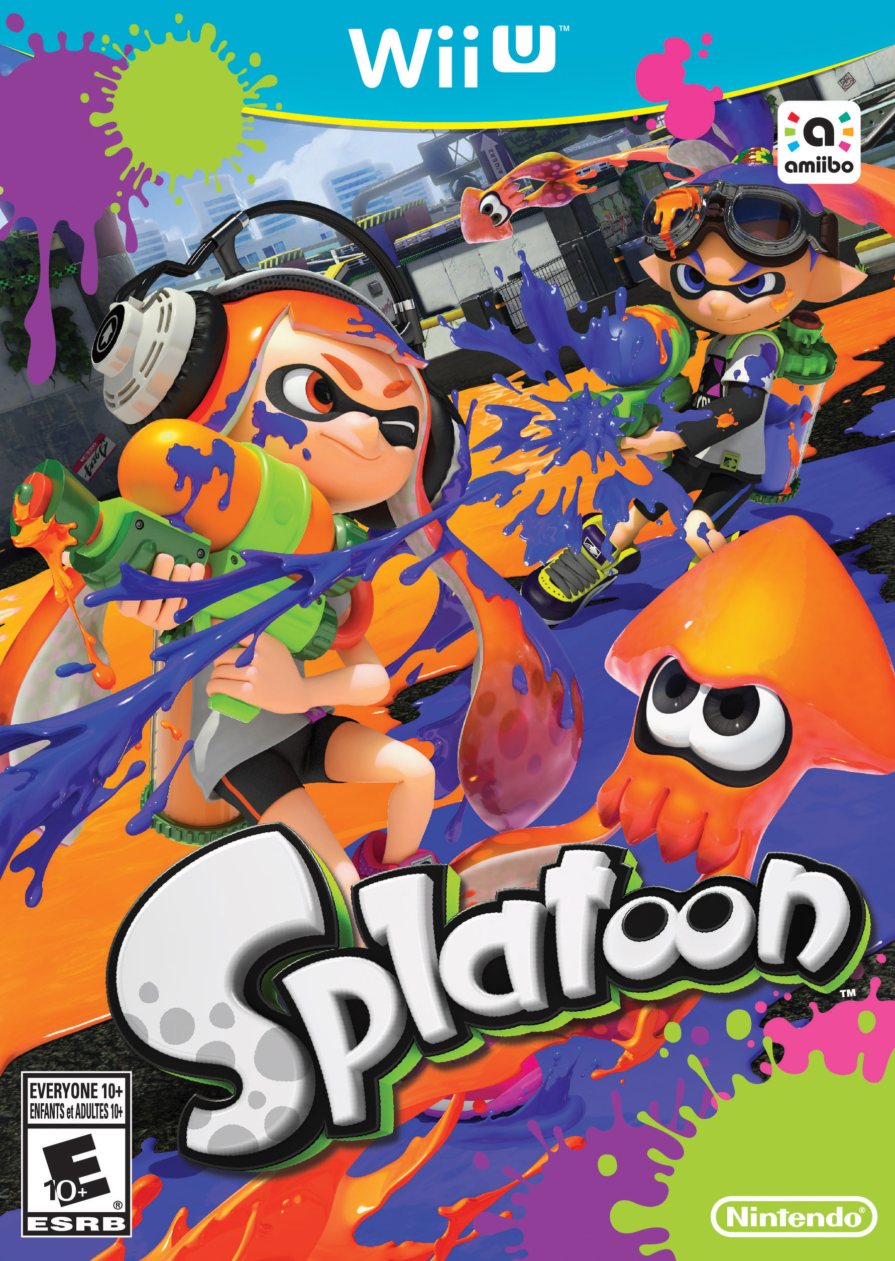 Wii U Splatoon
