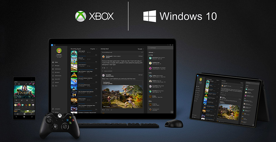 Xbox One Windows 10